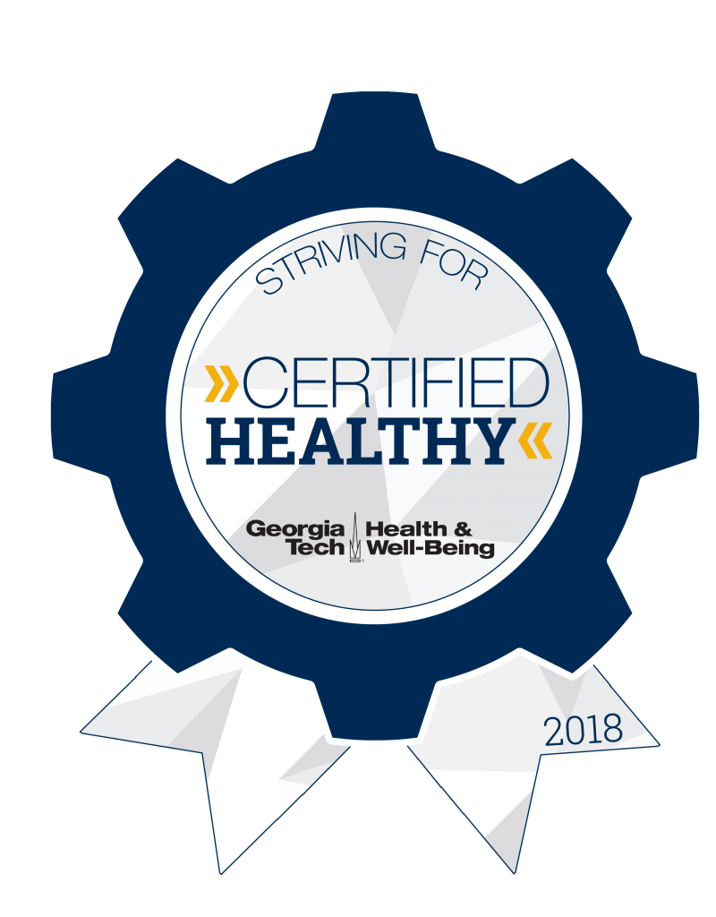 Striving for Certified Healthy badge